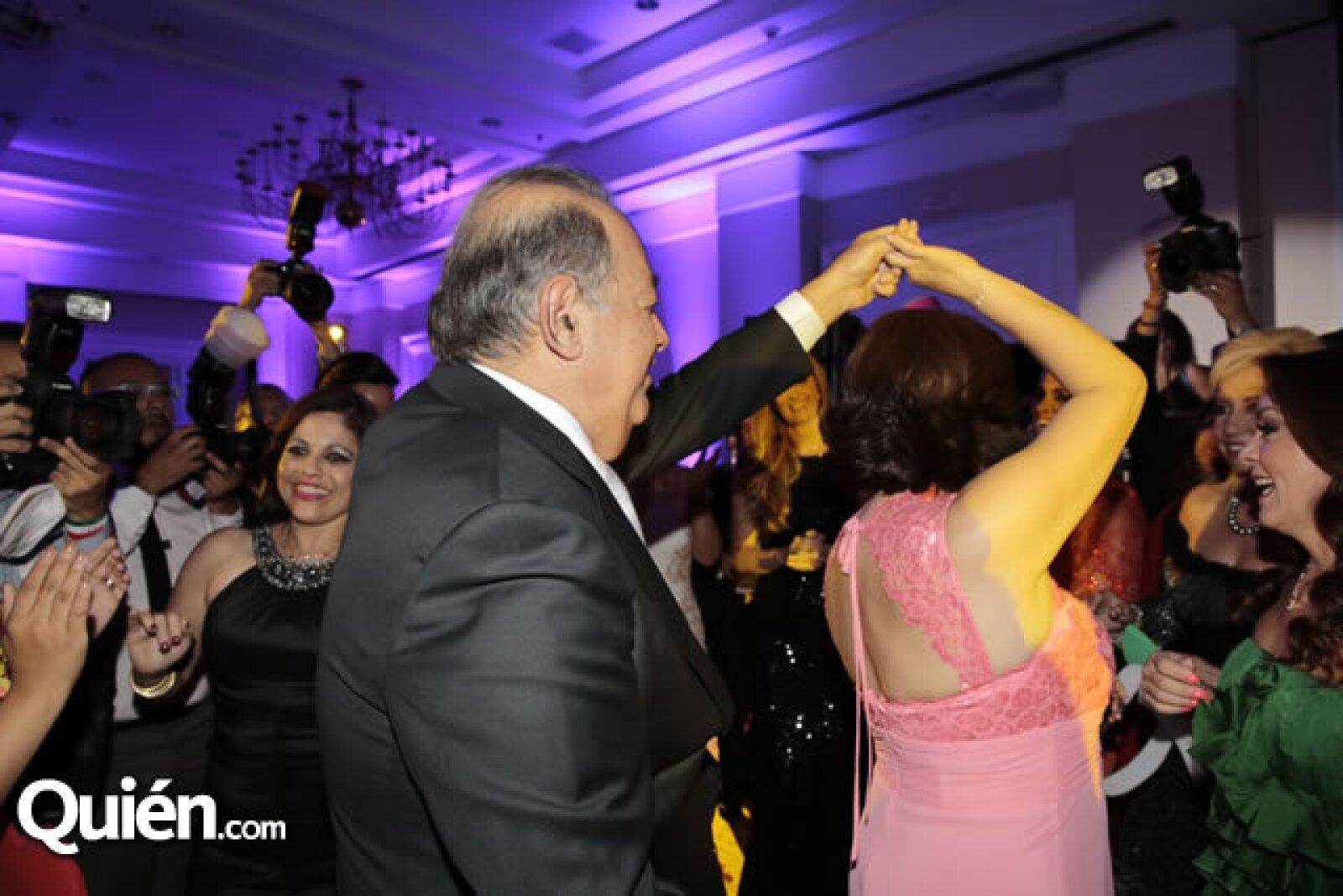 Carlos Slim,Perla Ortega