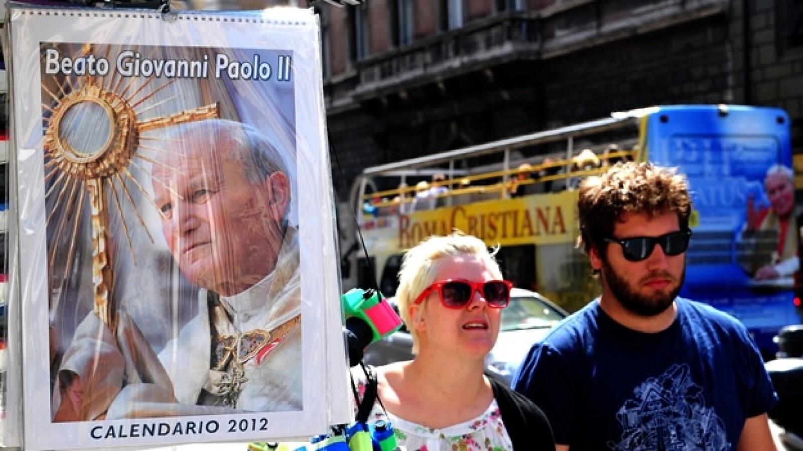 Juan Pablo II - poster santísimo