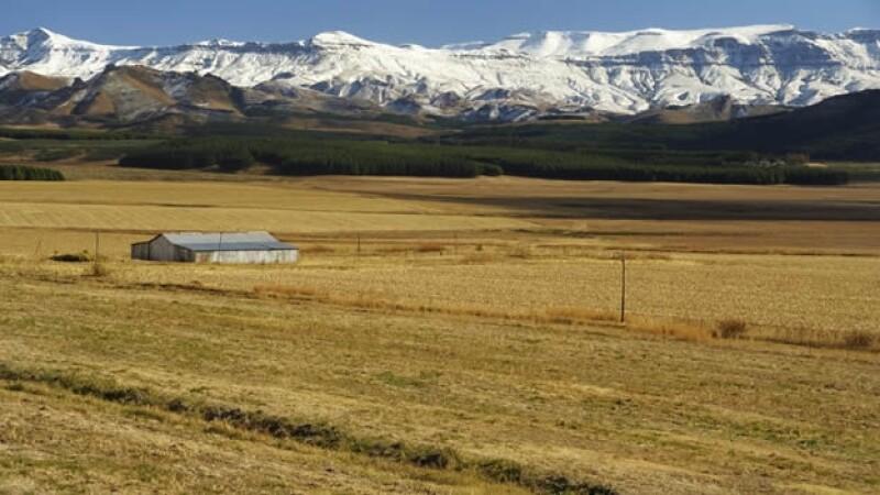 africa, lesoto, montanas, sudafrica, paisaje, nieve, sabana