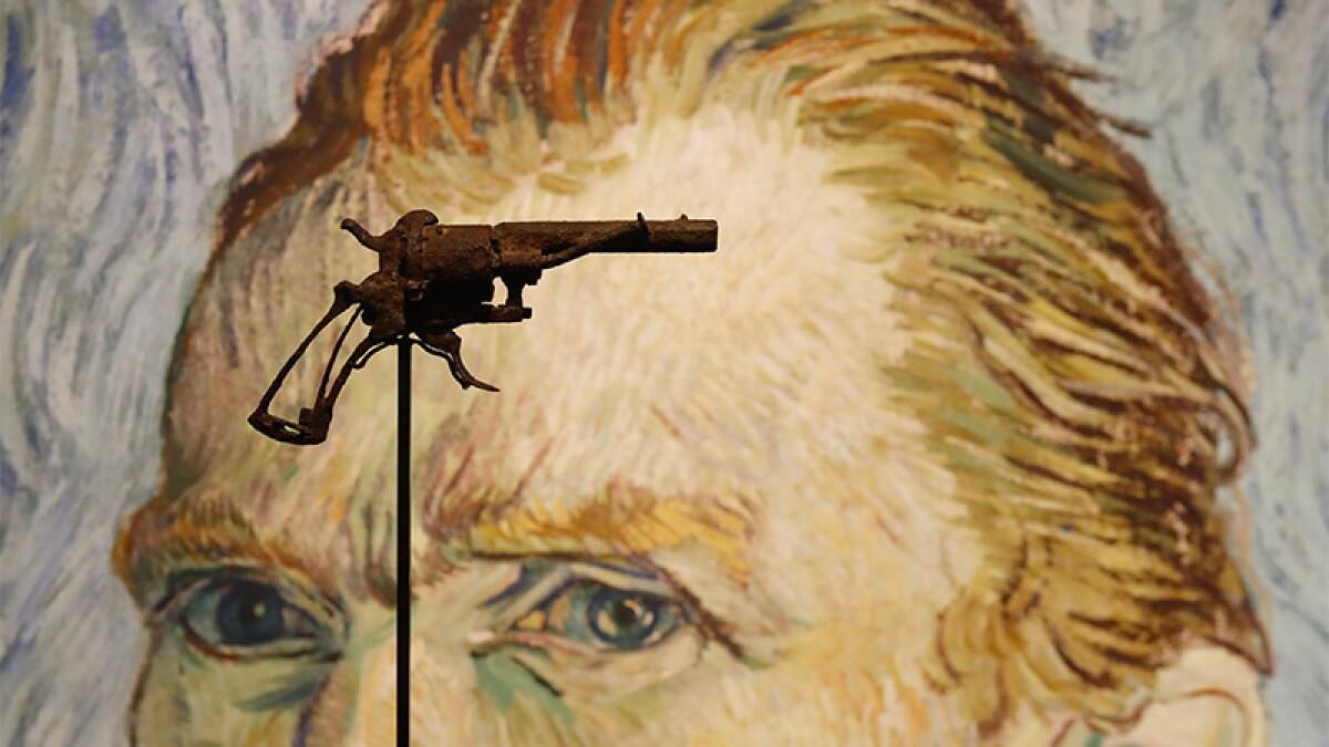 Venden el revólver con el que se habría suicidado Van Gogh