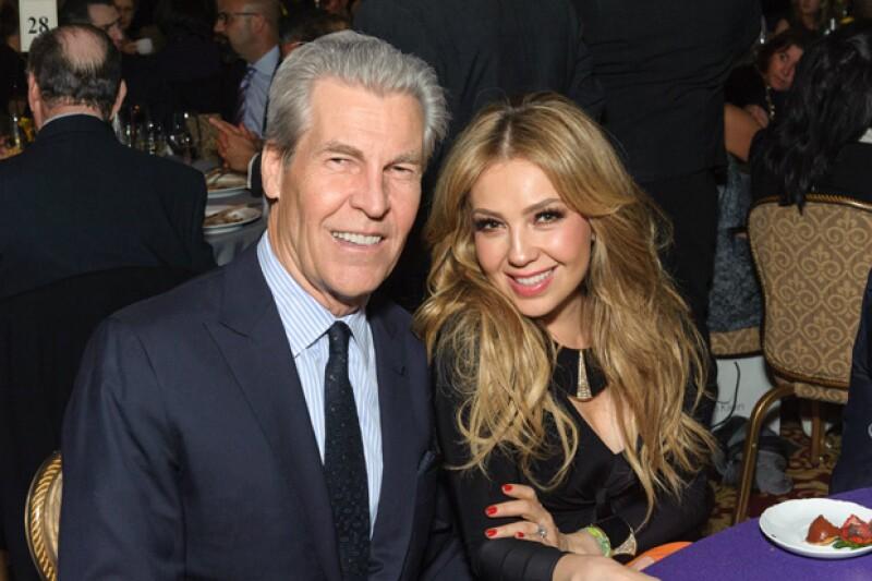 Terry Lundgren, CEO de Macys fue quien invitó a la cantante a acudir a la gala número 23 de la fundación que apoya a niños con cáncer.