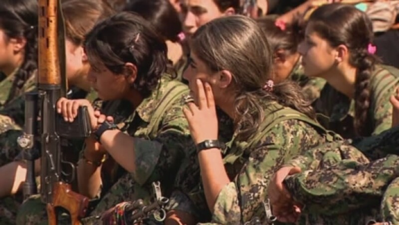mujeres kurdas lucha YPG