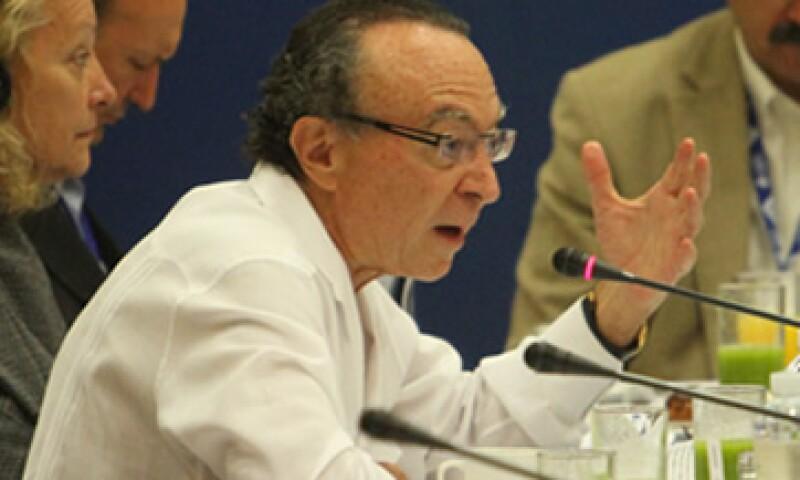 Guillermo Ortiz, presidente del Consejo de Administración de Grupo Financiero Banorte, ha criticado la repatriación de ganancias que realizan las instituciones financieras que operan en México. (Foto: Notimex)