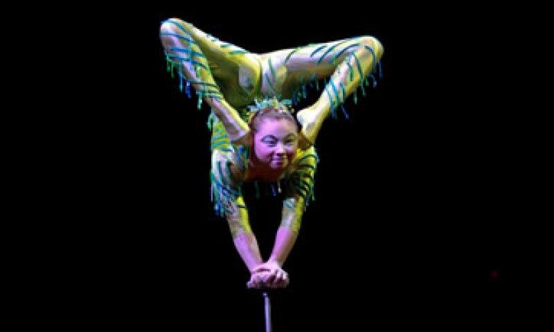 El circo es famoso alrededor del mundo por sus asombrosos espectáculos artísticos. (Foto: Cuartoscuro )