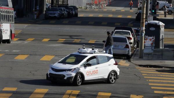 Auto autónomo de GM Bolt EV en San Francisco