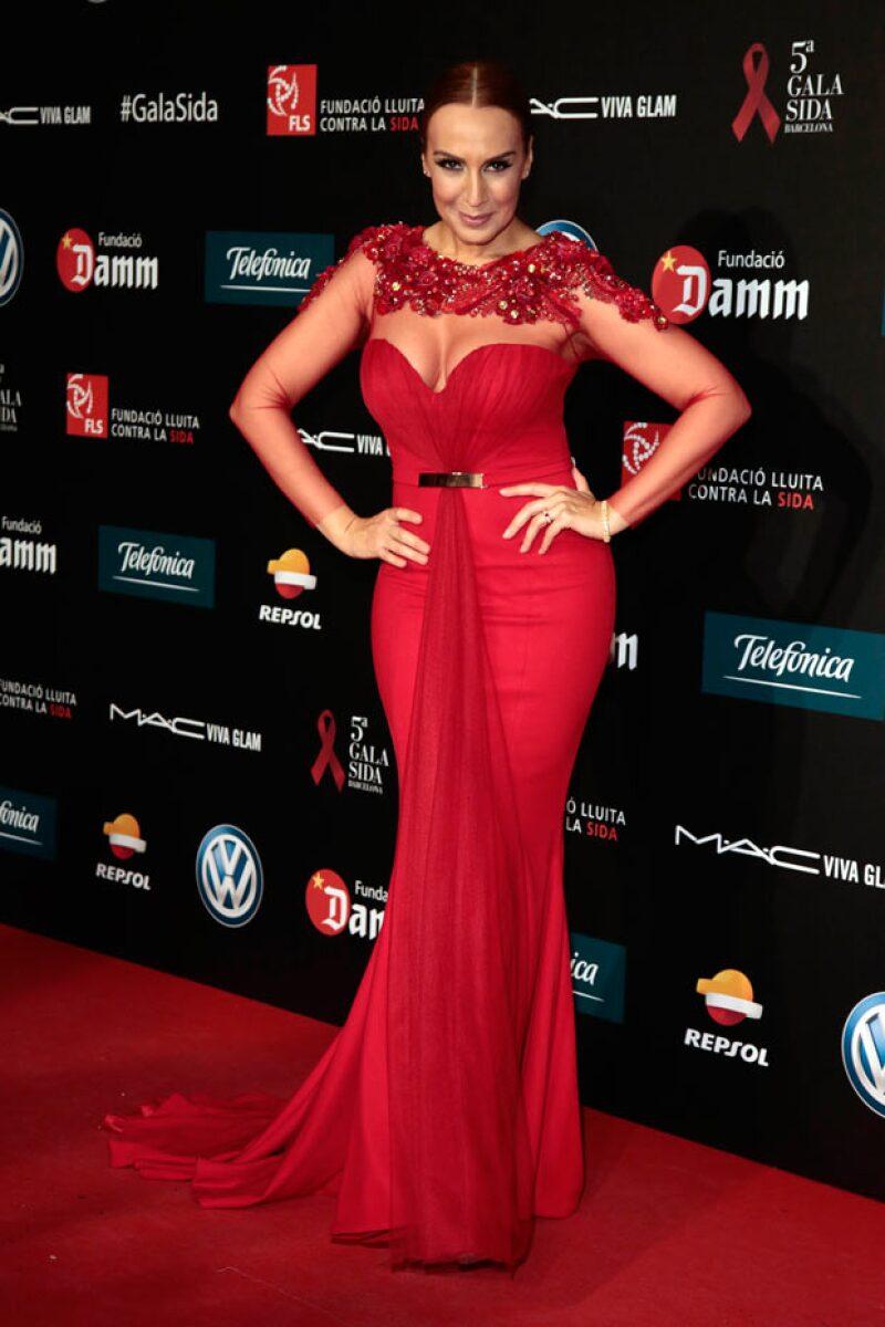 La cantante española después de 7 años de no venir a México regresó buscando hacer las paces.