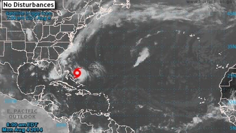 La tormenta Bertha