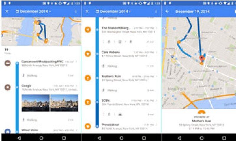 La función será privada y podrás eliminar los lugares guardados, anunció Google. (Foto: Cortesía/ Google Lat Long )