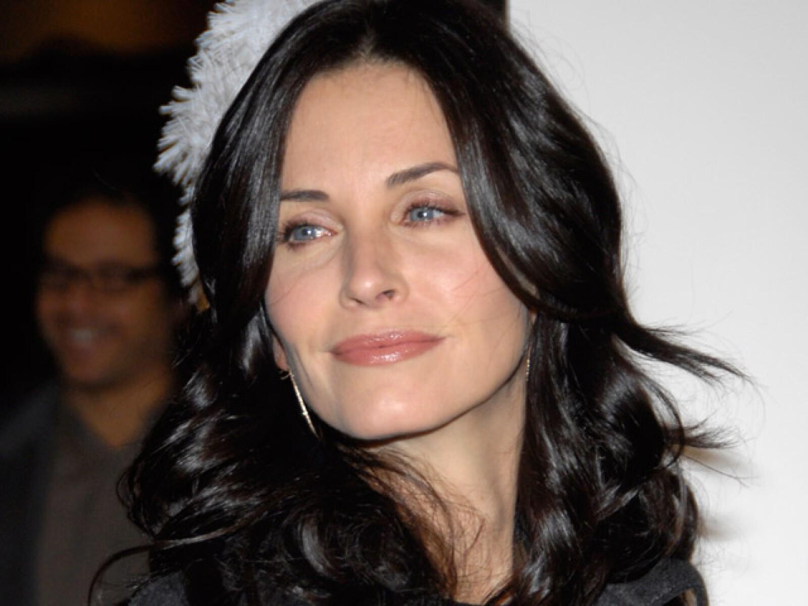 La actriz de `Friends´ Courtney Cox, estudió Diseño de Interiores y Arquitectura en el Colegio para mujeres Mount Vernon.