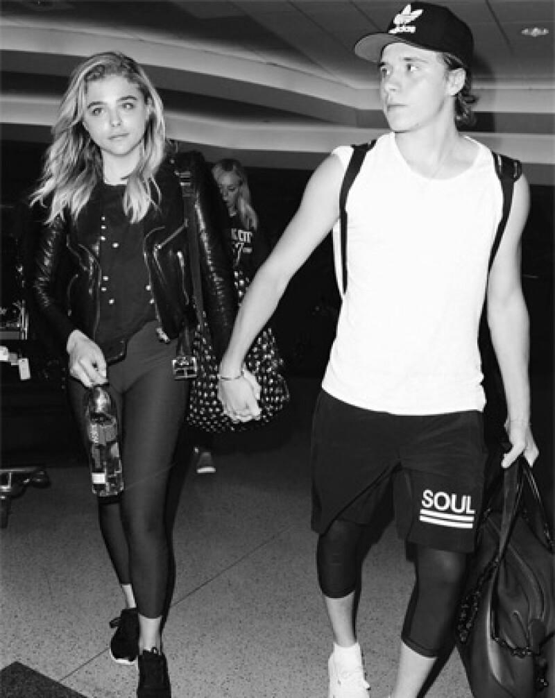 Chloë Moretz y Brooklyn Beckham