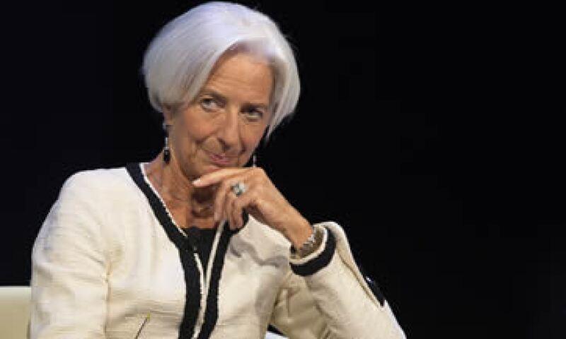 Si los países toman las medidas correctas es evitable la contracción, dijo Lagarde. (Foto: AFP)