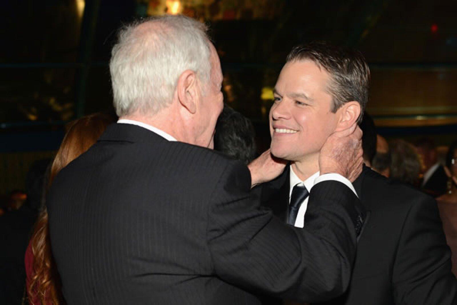 Jerry Weintraub, Matt Damon