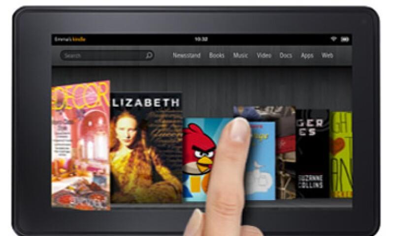 Según analistas, la 'tablet' que Amazon presentó no es un verdadero competidor para la iPad. (Foto: Cortesía Fortune)