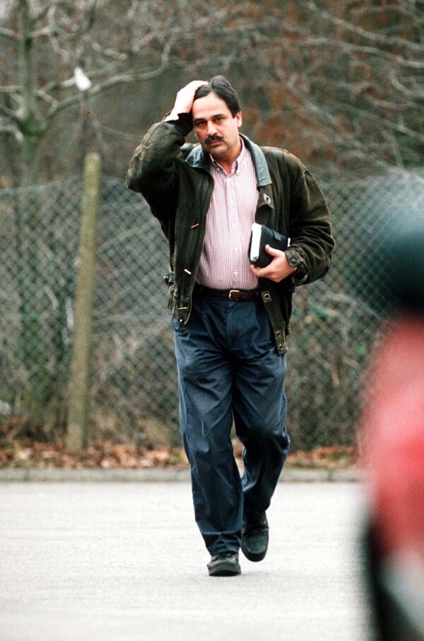 DOCTOR HASNAT KHAN AT HARROW HOSPITAL IN LONDON, BRITAIN - 1997