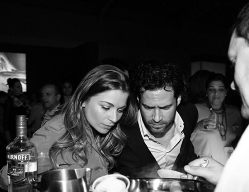 En noviembre la pareja asistió al Festival Gastronómico Millesime.