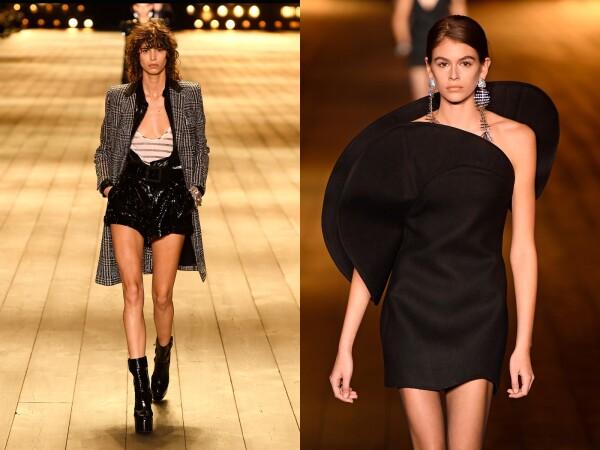 Saint Laurent show, Runway, Fall Winter 2018, Paris Fashion Week, France - 27 Feb 2018