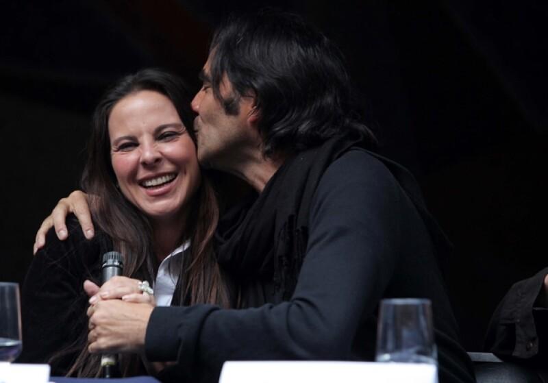 Kate comentó que desde hace mucho tiempo tenía ganas de trabajar al lado del director Carlos Bolado.