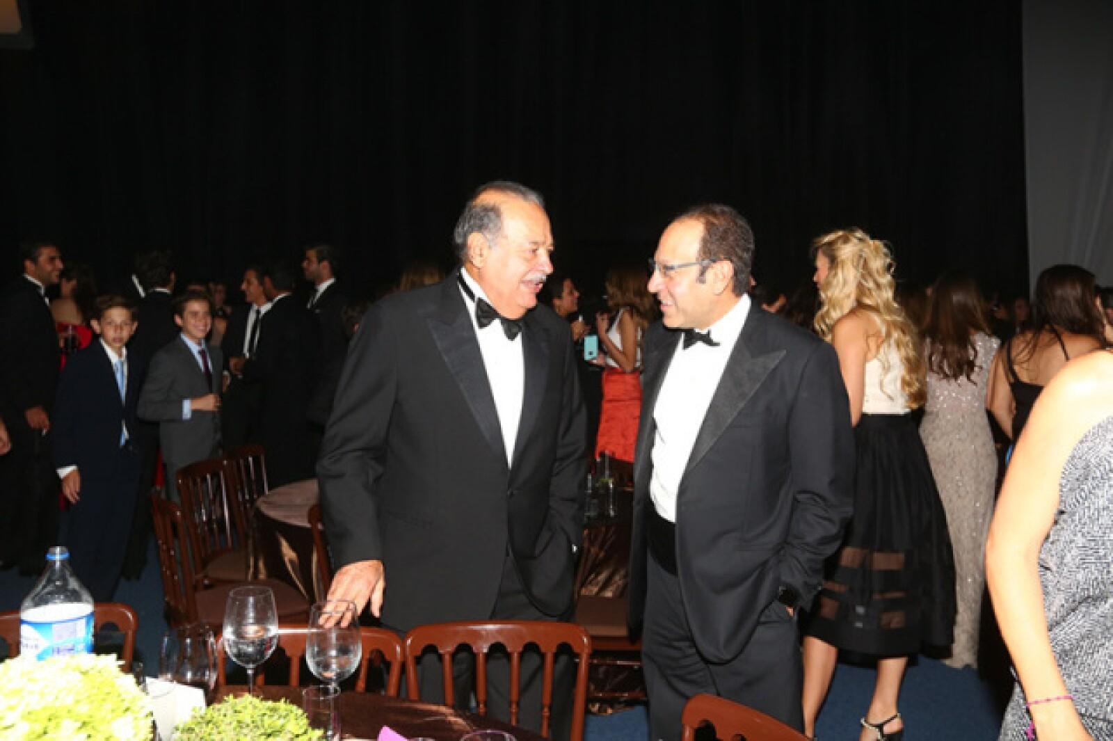 Carlos y Marco Antonio Slim