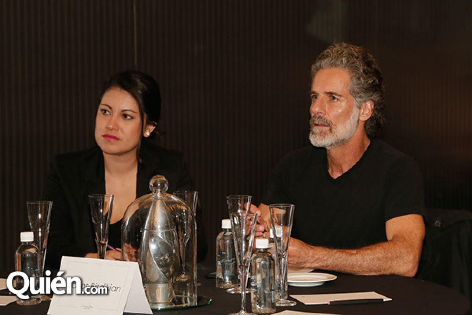 Cinthia Celaya y Carlos Bisdikian