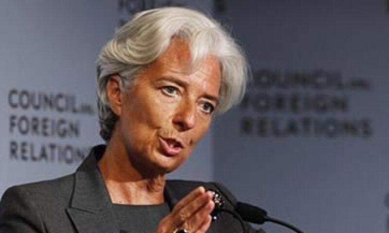 La directora gerente del FMI pidió a los países más afectados por la crisis implementar medidas que fomenten el ahorro estatal y el crecimiento económico. (Foto: Reuters)