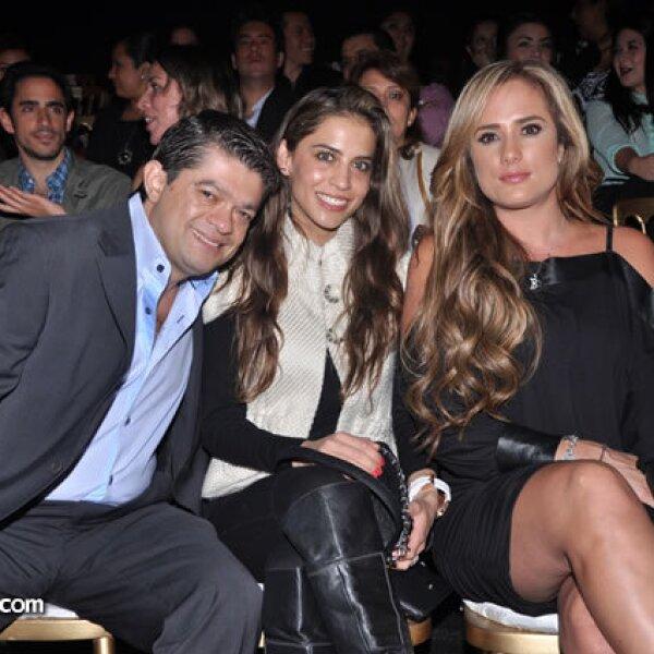 Horacio Quintana, Giselle Stahl y Betty Monroe