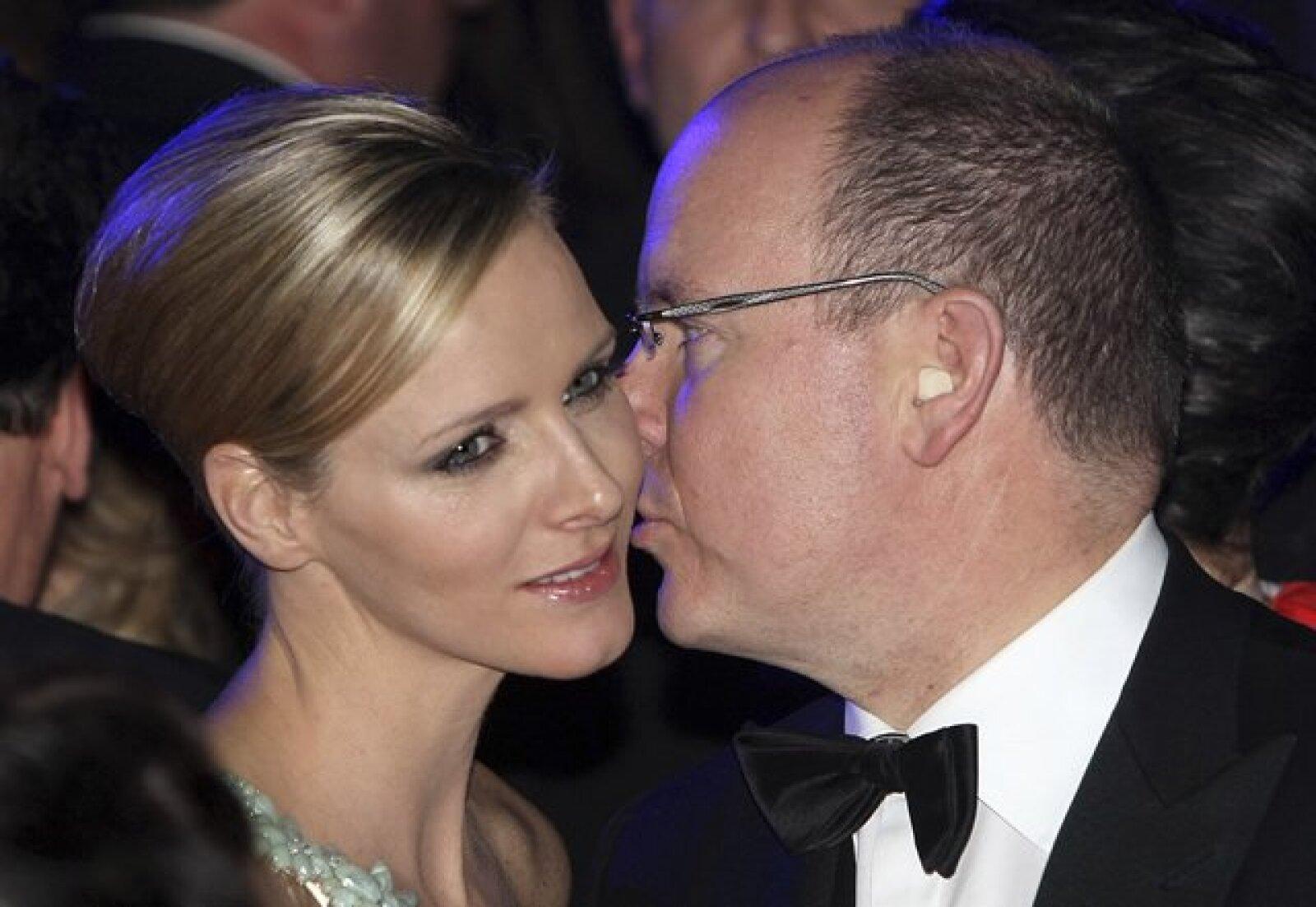 Está imagen demuestra que la relación entre el Alberto de Mónaco y Charlene sigue siendo cercana.