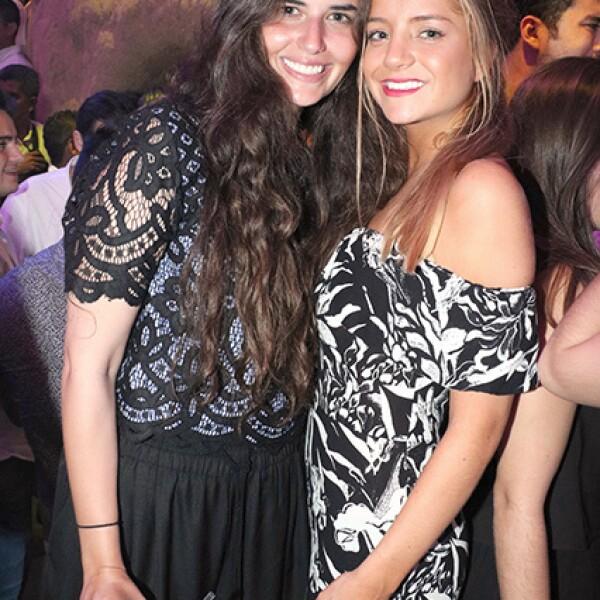 Sofía Castellanos y Valeria Roemer
