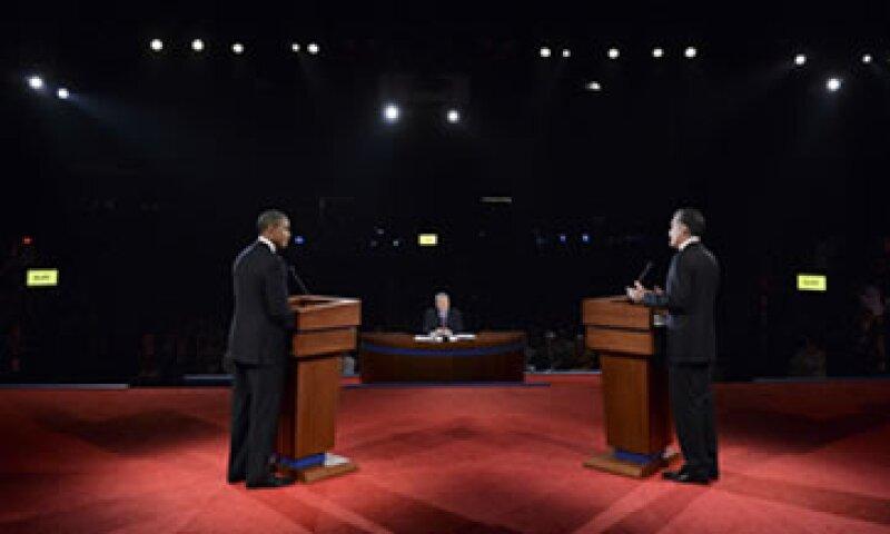 El debate entre Barack Obama y Mitt Romney fue transmitido por las 4 principales cadenas de televisión abierta en Estados Unidos. (Foto: Reuters)