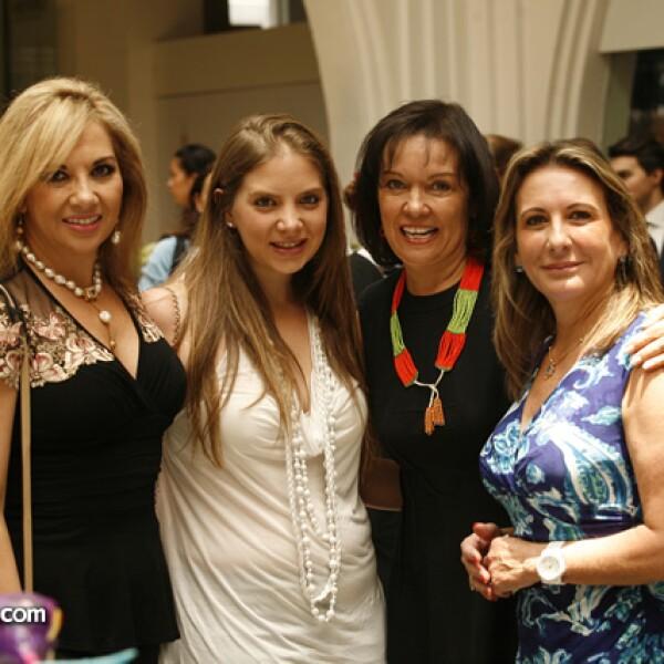 Sara Cohen, Brenda Chayet, Cecilia Moctezuma y Nelly Jiménez O´Farril