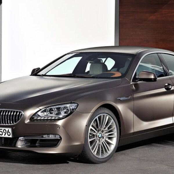 La automotriz alemana presentó su nuevo modelo Serie 6 Grand Coupé, el primer vehículo de este tipo con cuatro puertas.