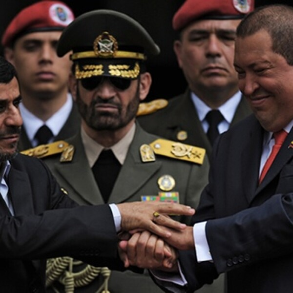 Ahmadinejad, Chavez