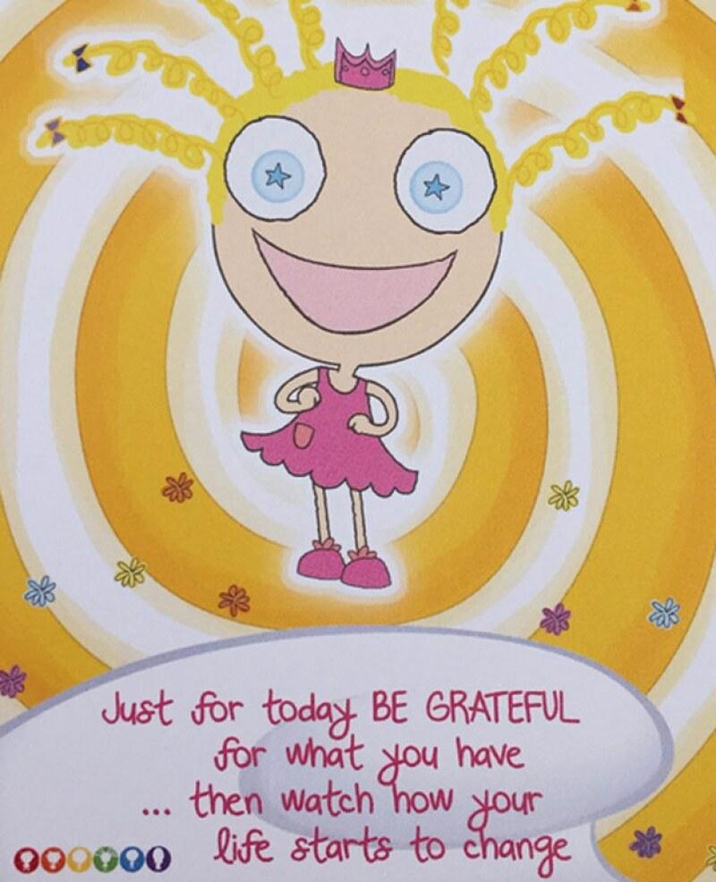 Nina Noodles es uno de los divertidos personajes de Tullys TV, quien enseña que el ser una princesa consiste en tratar bien a los demás.