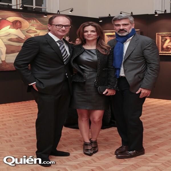 Pablo Creel, Sofía Aspe, Miguel Ángel Moratinos