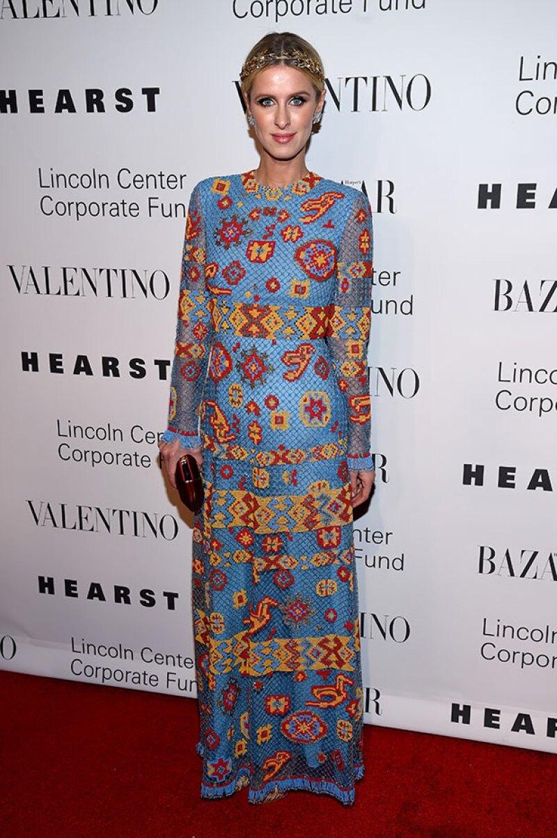 El vestido Valentino era perfecto para la ocasión... si no lo hubiera llevado otra persona.