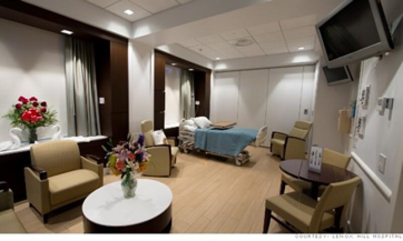 El costo de algunos hospitales de lujo puede ir de 1,200 a 2,100 dólares por noche. (Foto: cortesía CNNMoney)