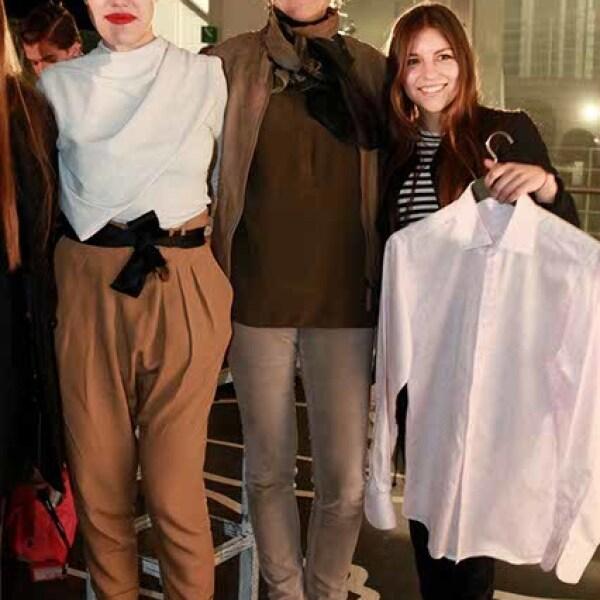 Mónica Mendoza,Kerstin Scheuch y Mónica Pino