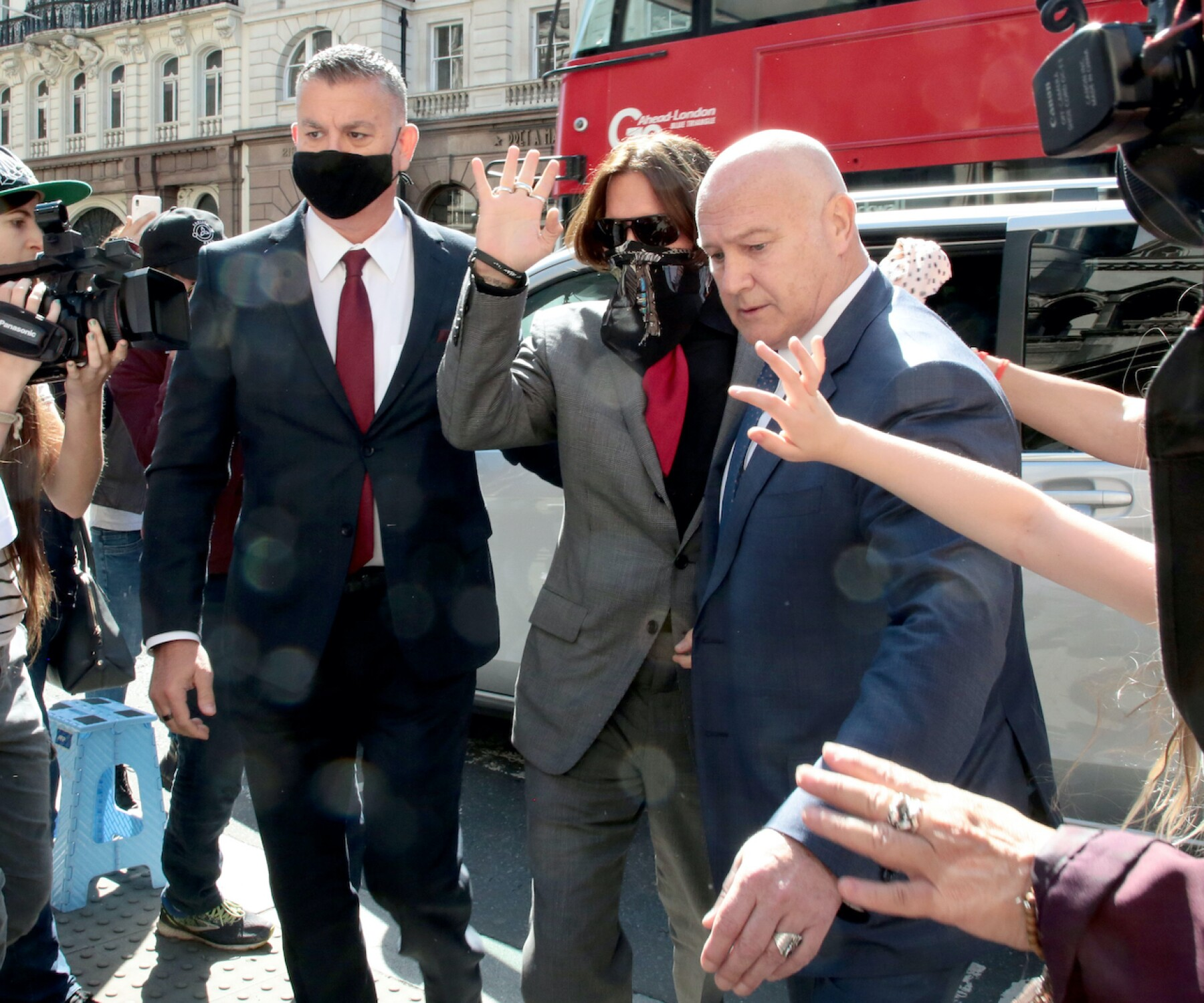 Johnny Depp v The Sun libel trial, The Royal Courts of Justice, London, UK - 21 Jul 2020