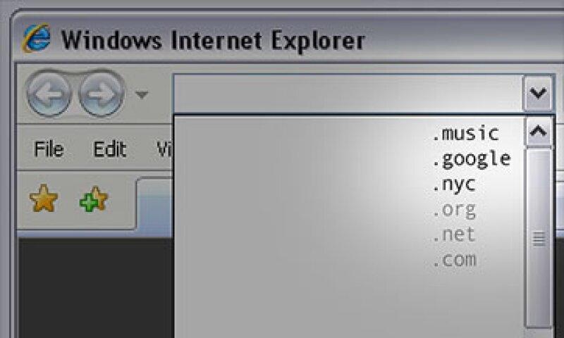 ICANN prevé que los nuevos dominios estén en línea a principios de 2013. (Foto: Cortesía CNNMoney.comç)