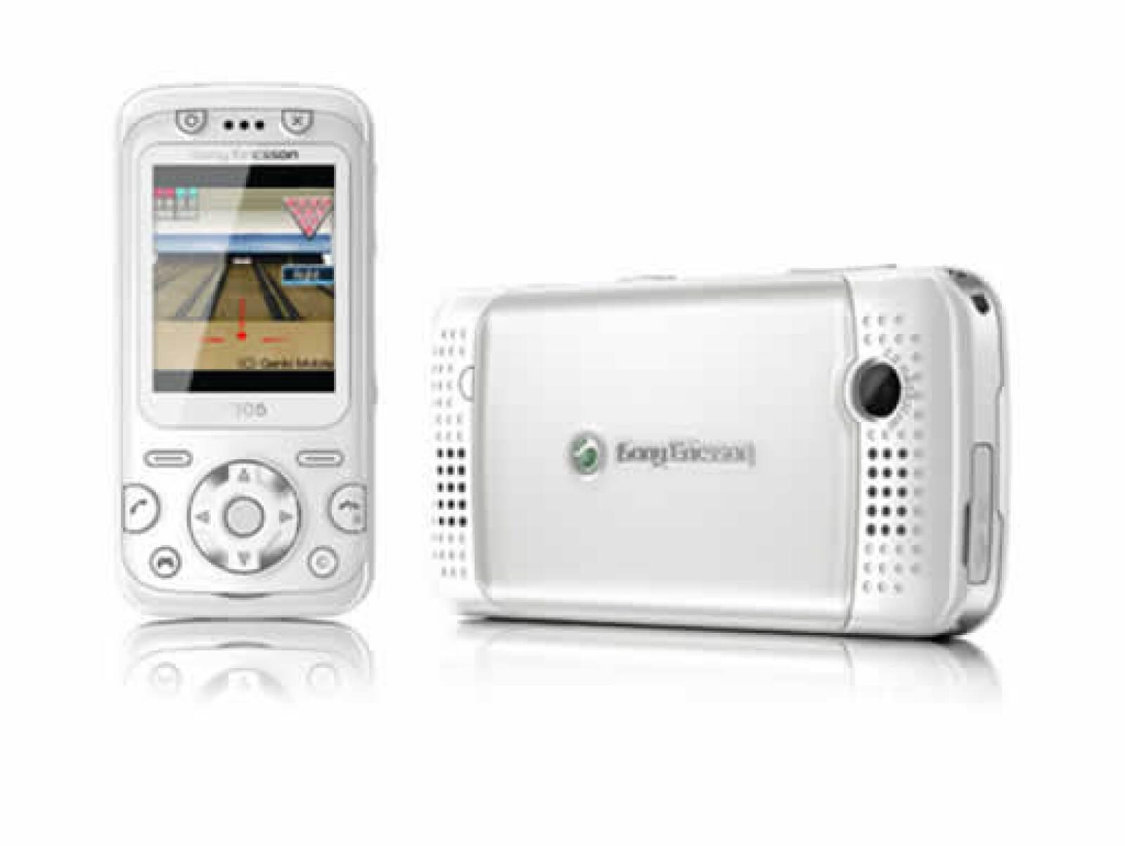Es el modelo F305 el que incluye juegos sensibles al movimiento, incluso tiene teclas exclusivas para estas aplicaciones.