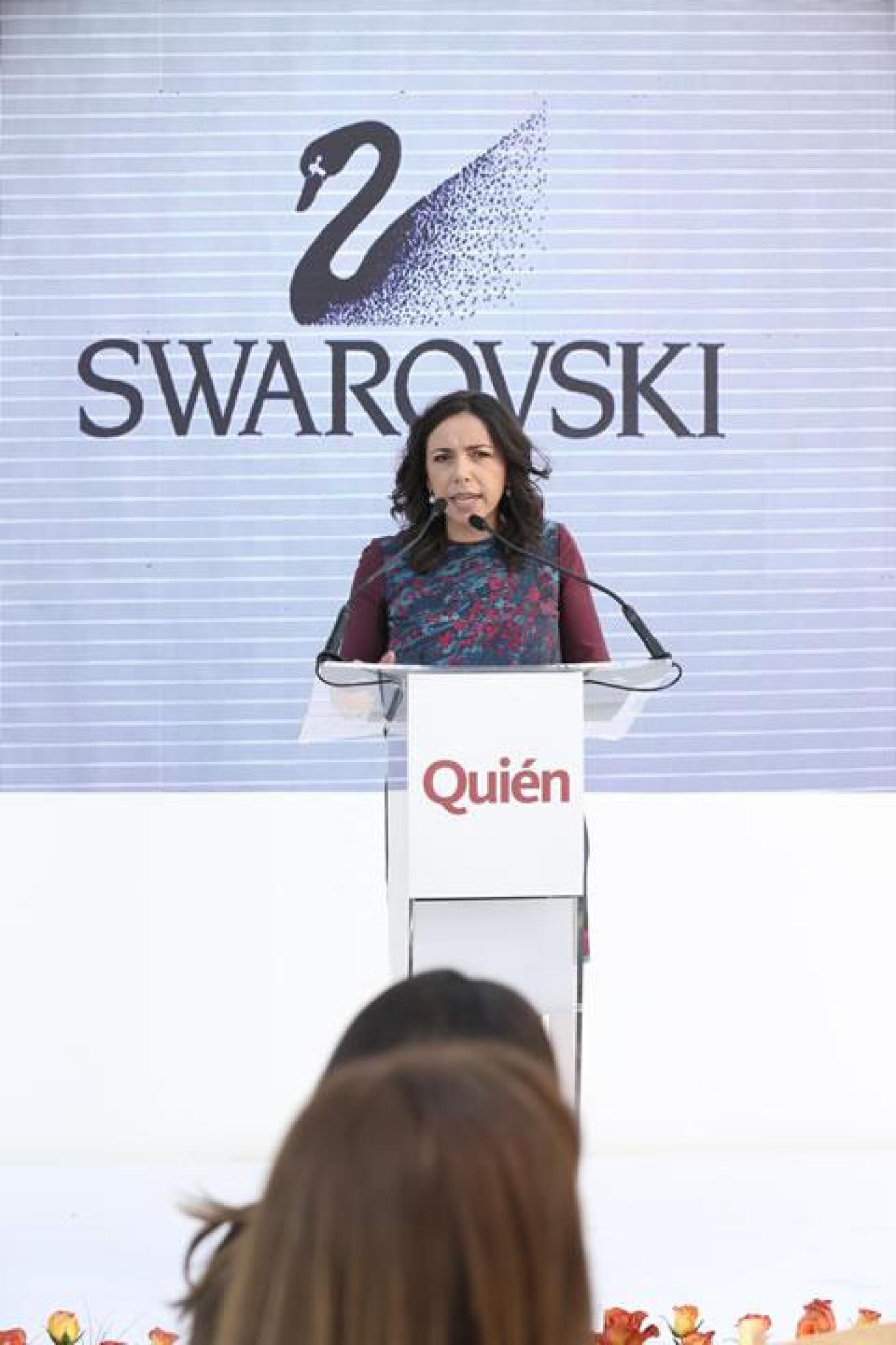 Laura Manzo, editora general de la revista Quién.