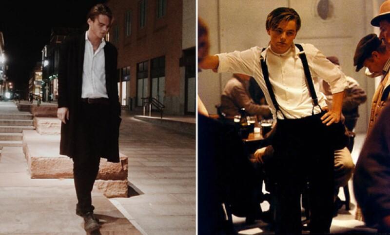 ¿Quién es quién? Konrad, a la izquierda, y Leo a la derecha, en el set de Titanic