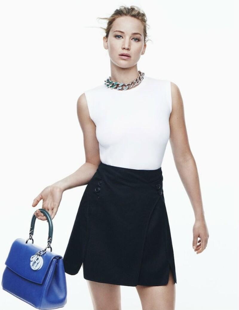 Dior ha convertido a Jennifer en su musa, vistiéndola para importantes red carpets.