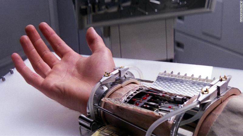 mano robótica de Luke Skywalker