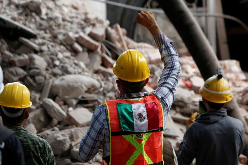 Edificios caídos