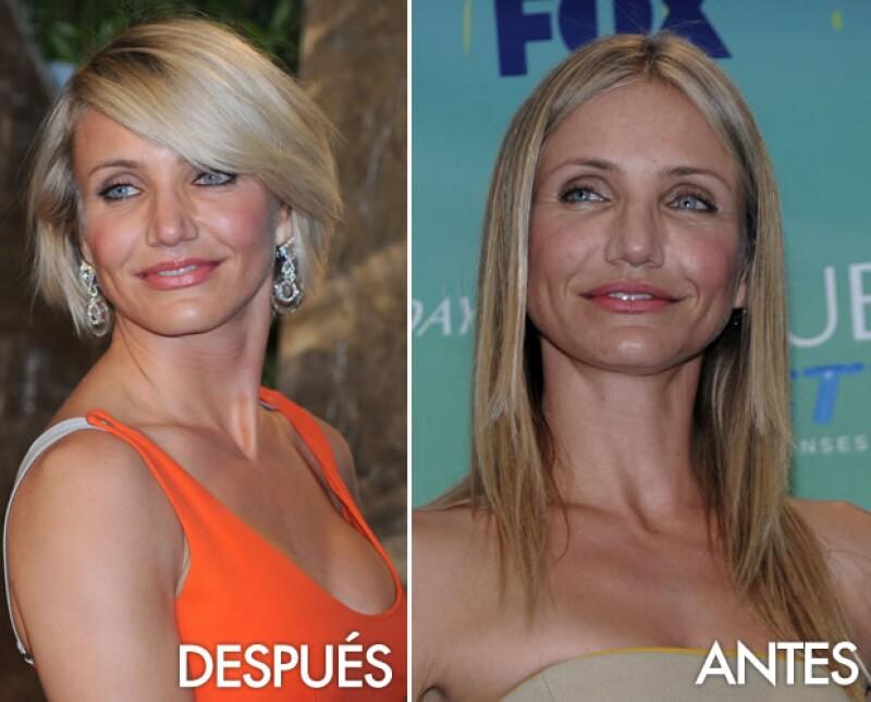 La actriz dijo esta semana que quedó muy afectada después de que su estilista cortara de más su pelo rubio.