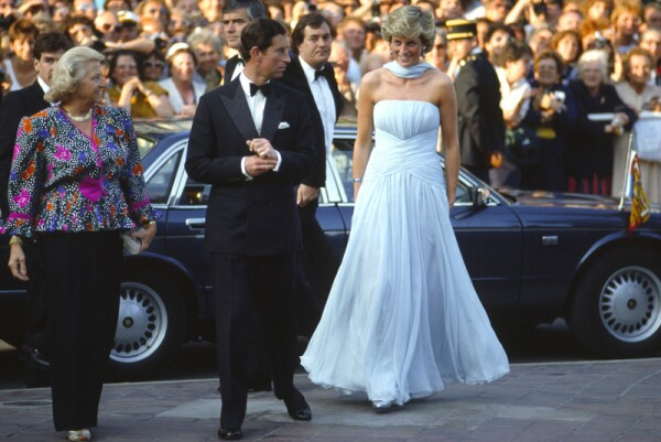 Diana And Charles In Cannes