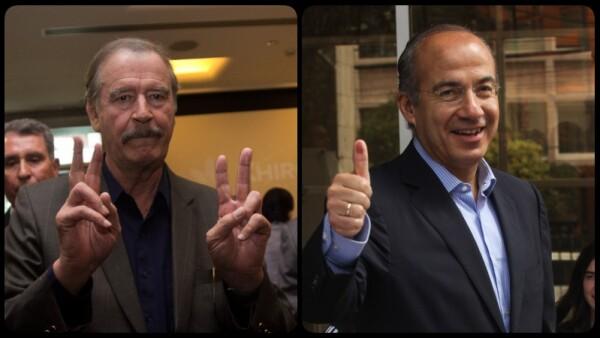 Fox y Calderón