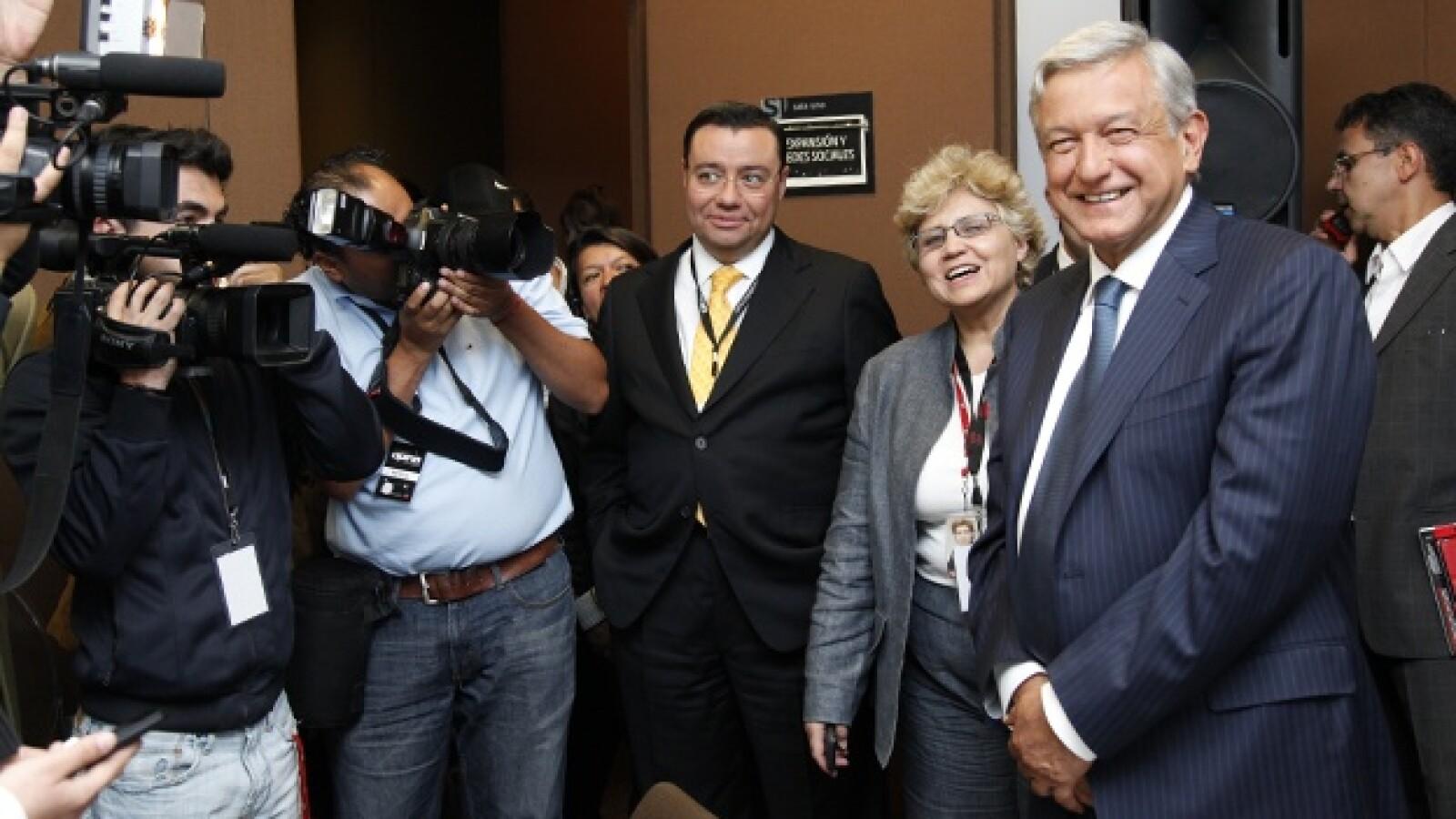 Foro CNN, Obrador
