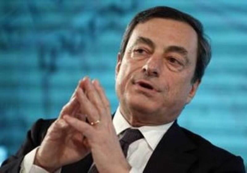 El presidente del grupo de ministros de Finanzas de la zona euro confirmó el acuerdo sobre Draghi. (Foto: Reuters)