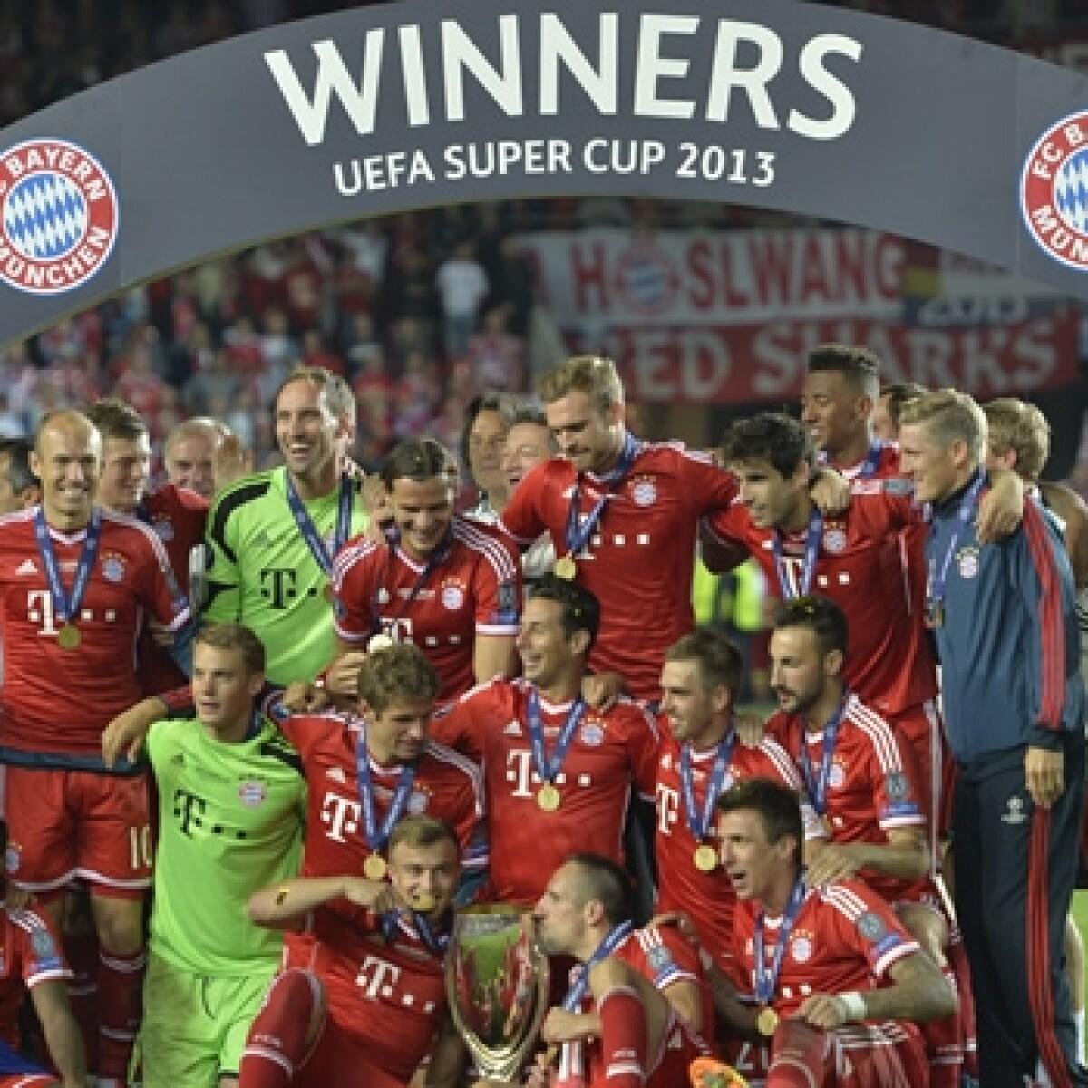 El Bayern de Josep Guardiola se lleva su primera Supercopa de Europa